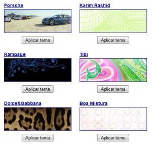 Galería de Temas para Google Chrome