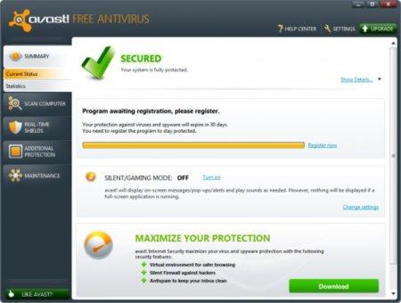 descargar avast free antivirus gratis para windows 8.1