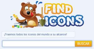 FindIcons, Buscador de iconos gratis