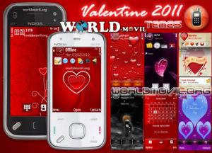 Tema de San Valentìn para Nokia