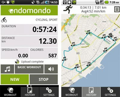 Endomondo Sports Tracker, una aplicación ideal para corredores