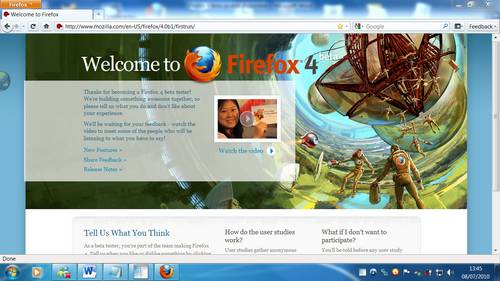 Disponible Beta 5 de Firefox