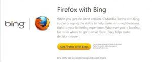 Mozilla lanza Firefox con Bing