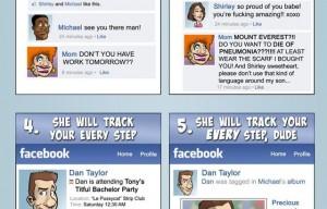7 razones de por qué tu madre no debería ser tu amiga en Facebook