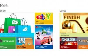 Microsoft presenta oficialmente la Windows Store